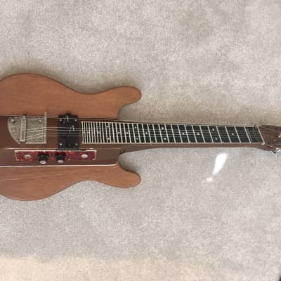 Melobar Lap Steel 1980's Brown/ natural for sale