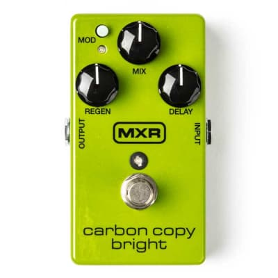 MXR M269SE Carbon Copy Bright Delay Guitar Effects Pedal for sale
