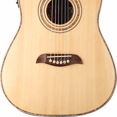 Oscar Schmidt 3/4 Size Acoustic/Electric Guitar, 4 Band EQ, Natural, OG1CE for sale