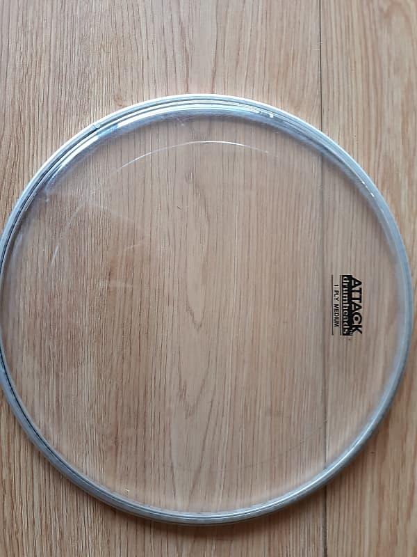 attack dha10 1 ply medium drum head 10 reverb. Black Bedroom Furniture Sets. Home Design Ideas