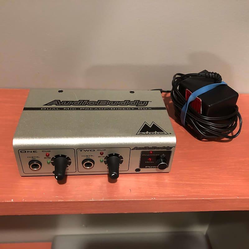 M-Audio Audio Buddy 2 Channel Mic Preamp | JSM Gear