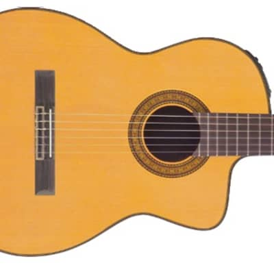 Takamine Hirade TC132SC Classical Cutaway Acoustic Electric Guitar for sale