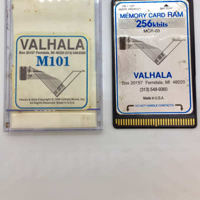 Valhala Memory Card RAM 256K MCR-03 for Korg M1, Wavestation
