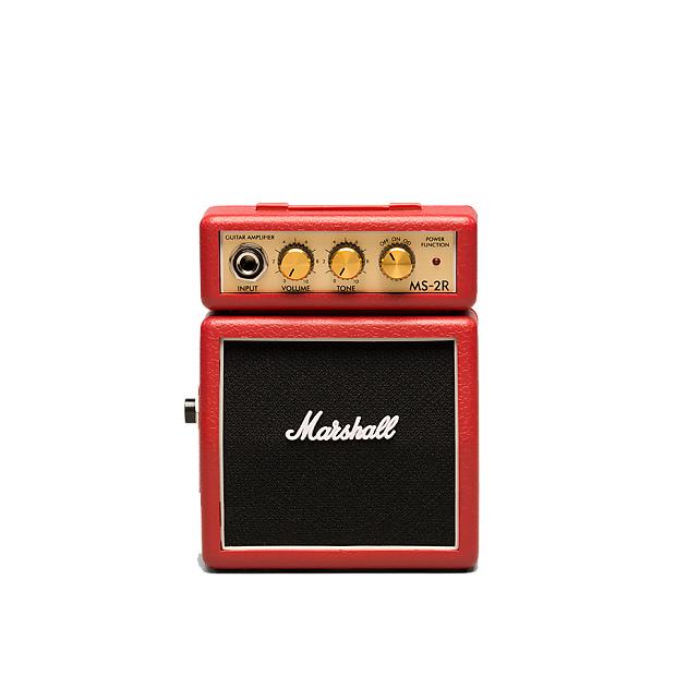 marshall ms 2r mini practice amp red tone shop guitars reverb. Black Bedroom Furniture Sets. Home Design Ideas