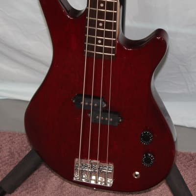 Samick Bass Guitar Cherry Mahogany model LB-11 for sale