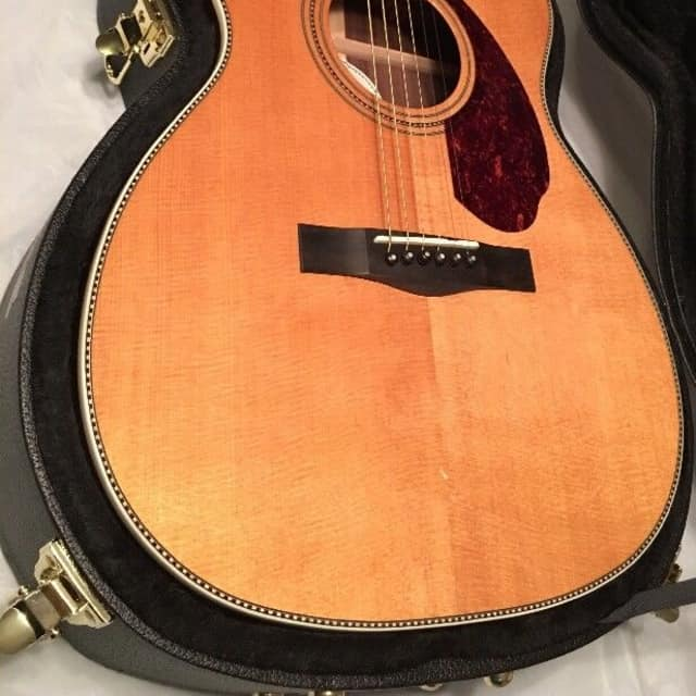 "Fender Paramount PM-3 ""000"" size Deluxe Acoustic-Electric Guitar image"