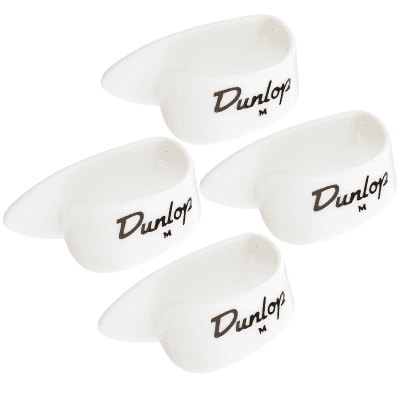 Dunlop 9002P Plastic Medium Banjo Thumbpicks (4-Pack)