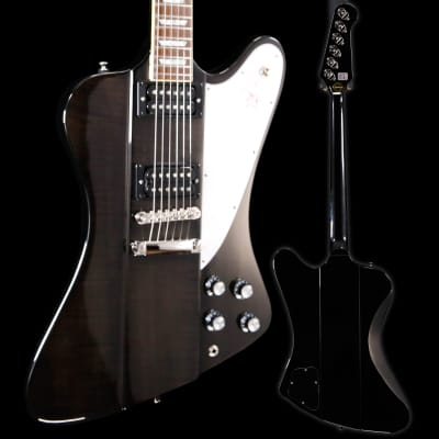 Epiphone EDSLTBNH3 Ltd Ed Slash Firebird, Translucent Black 190 8lbs 1oz USED for sale