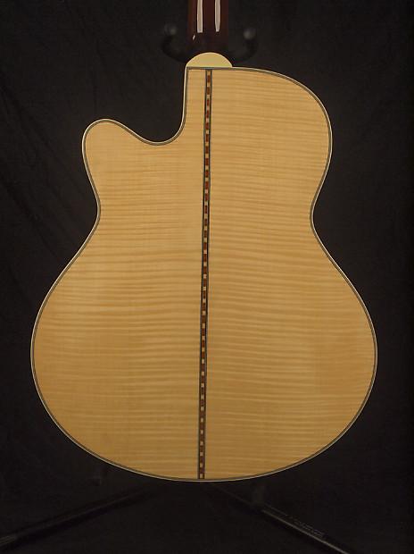 johnson las vegas natural archtop jazz guitar free shipping reverb. Black Bedroom Furniture Sets. Home Design Ideas