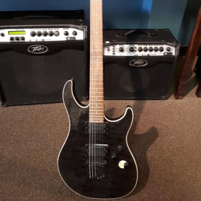 Peavey Predator Plus ST Electric Guitar Black