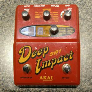 Akai SB-1 Deep Impact Synth Bass Pedal for sale