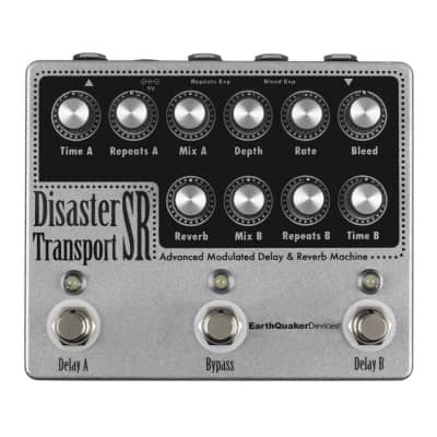 Earthquaker Devices Disaster Transport SR - Advanced Modulated Delay& Reverb Machine [TWM] for sale