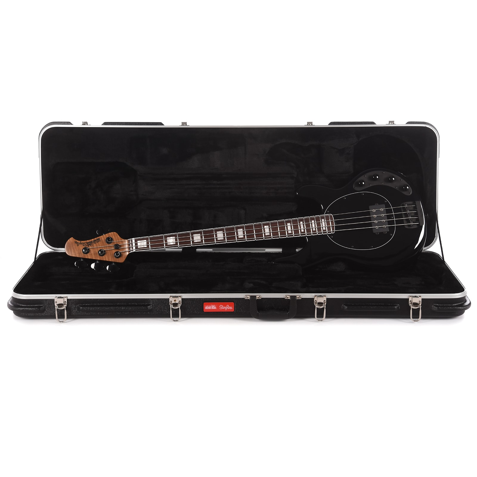 Music Man BFR 2018 StingRay Special 4H Hades Black