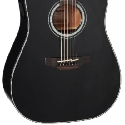 Takamine GD30CE-BLK Acoustic-Electric Guitar - Gloss Black for sale