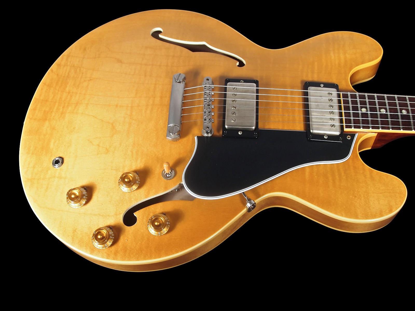 2017 Gibson ES 335 TD 1959 Memphis Custom Shop Dot 59 ES335 Reissue Vintage Natural