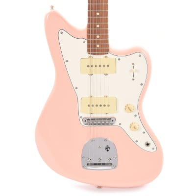 Fender Player Jazzmaster Shell Pink w/Olympic White Headcap, Pure Vintage '65 Pickups, & Series/Parallel 4-Way (CME Exclusive)