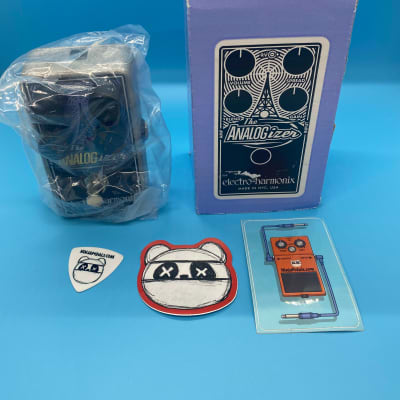 Electro-Harmonix Analogizer Analog Boost / Saturation Pedal w/Original Box | Fast Shipping!