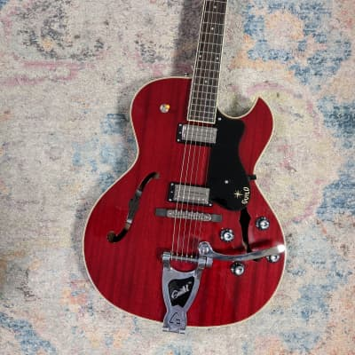 Guild Starfire III Cherry Red w/ HSC for sale
