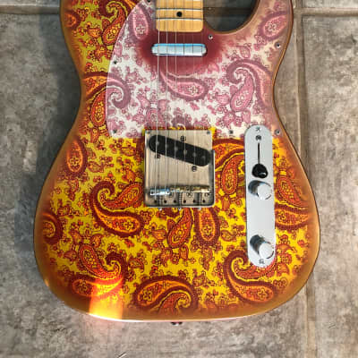 Crook Custom Telecaster Pink Paisley for sale