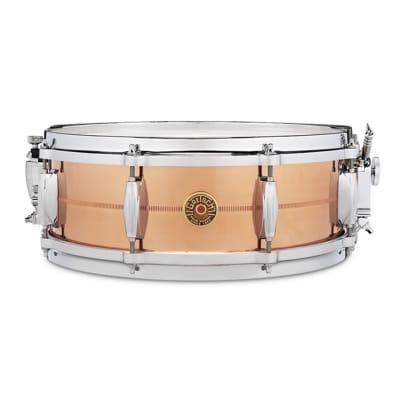 """Gretsch G4160C USA Copper 5x14"""" 8-Lug Snare Drum"""