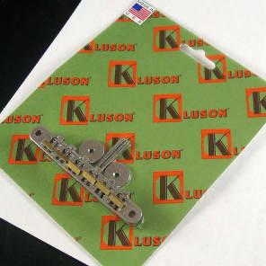 Kluson KABRWRB-N ABR-1 Tune-o-Matic Bridge with Raw Brass Saddles