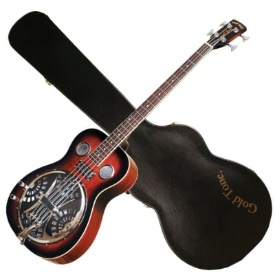 Gold Tone PBB Paul Beard Signature Series Resonator 4-String Bass Guitar w/Hardshell Case for sale