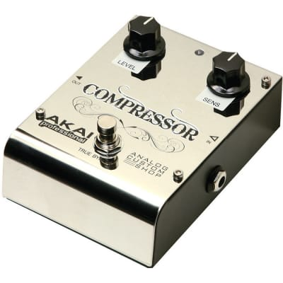 Akai Analog Custom Shop Compressor Effect Pedal for sale