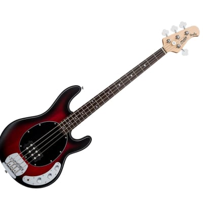 Sterling by Music Man RAY4-RRBS-R1 StingRay in Ruby Red Burst Satin - Used for sale