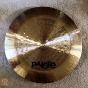 "Paiste 20"" Signature Heavy China Cymbal"