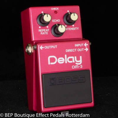 Boss DM-3 Delay 1984 Japan s/n 449200 with MN3205 BBD as used by Jet Rebel ( Great Dutch Musician )