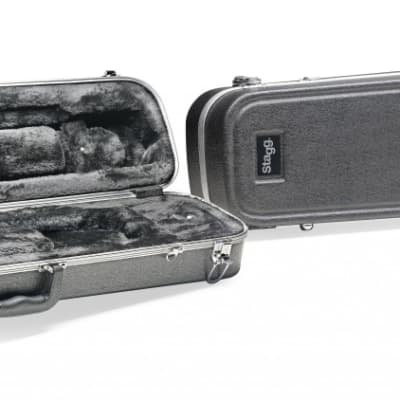 Stagg ABS Case for Trombone w/ 3 compartments for small accessories