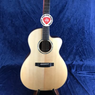 Auden Artist Mahogany Chester Model Spruce Top Cutaway in Hard Case for sale
