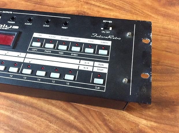 future retro mobius step sequencer midi    cv    din sync