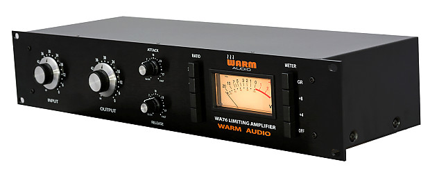 new warm audio wa76 limiting amplifier classic style fet reverb. Black Bedroom Furniture Sets. Home Design Ideas
