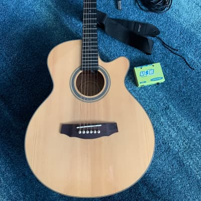 Fretlight FG-5 Acoustic guitar learning Midi