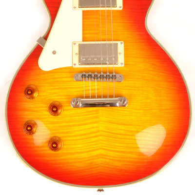 Agile AL-3100MCC Multi-Radius Cherry Sunburst Flame Left Handed Electric Guitar for sale