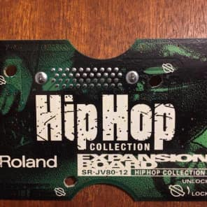 roland sr-jv80 card 12  Hip Hop collection