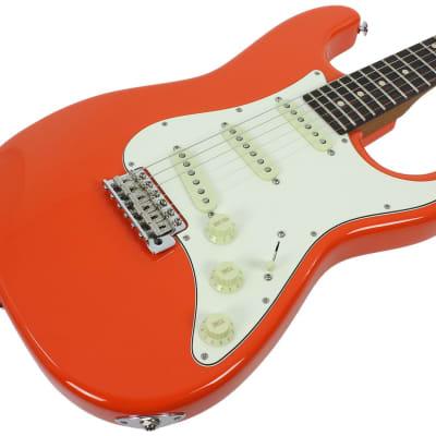 Suhr Scott Henderson Signature Classic Guitar - Fiesta Orange for sale