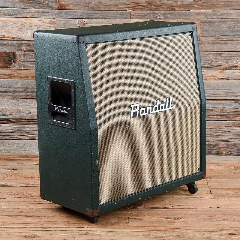 Randall R412 4x12 Guitar Cabinet Green Tolex Used Reverb