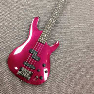Ibanez SB1200 90's Bass Guitar Magenta w/ Case for sale