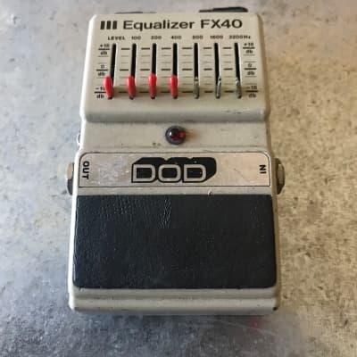DOD III Equalizer FX40 1983 Gray for sale