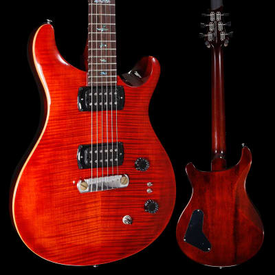 PRS Paul Reed Smith SE Paul's Guitar w/ Bag, Fire Red 230 6lbs 8.6oz for sale