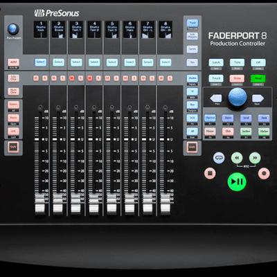 PreSonus FaderPort 8 USB DAW Control Surface Automation Controller