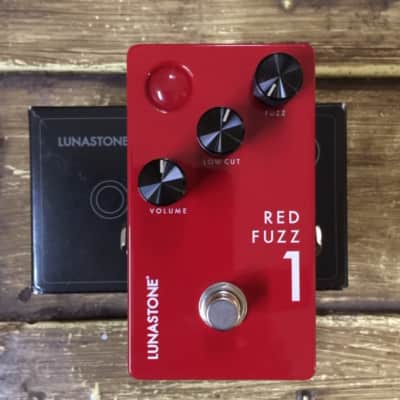 Lunastone Red Fuzz 1 Red for sale