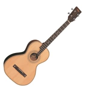 Vintage VTE800N Viaten Paul Brett Signature Tenor Guitar Natural