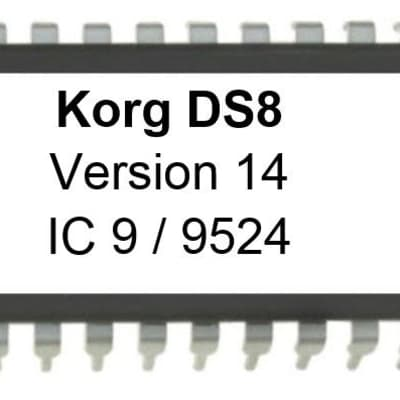 KORG DS8 OS Version 14 Synthesizer FM Update Firmware Eprom DS-8