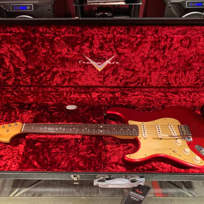 Fender Stratocaster Custom Shop LIMITED EDITION big head 1966 Aged Candy Apple Red for sale