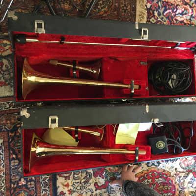 Wurlitzer Amplifiers and Brasshorns 7250 1960` Brass