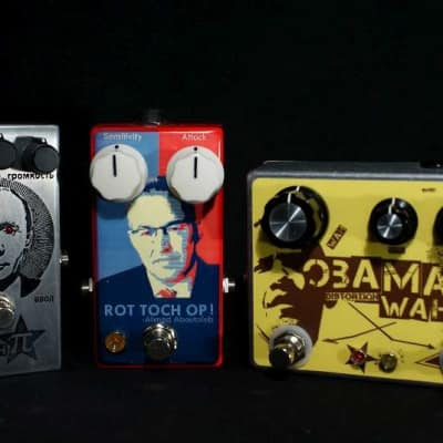 Collection of World Leaders - Putin , Aboutaleb and Obama aka Big Muff Pi , Slow Gear and Fuzz Wah