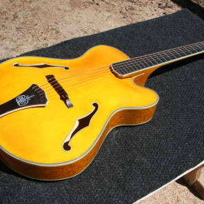 Schaefer Archtop Acoustic Mike Overly Custom 1999 Serial #5 for sale